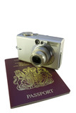 camera and passport