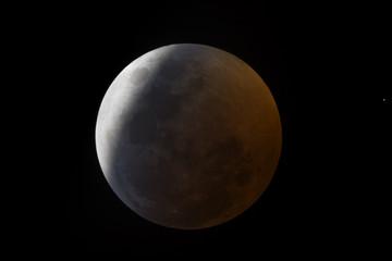 eclisse di luna: parzialità
