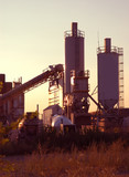 dawn cement plant poster