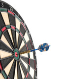 hitting the bullseye! poster