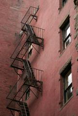 back fire escape