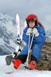 skieur enfant