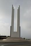 monument on boulevard santo domingo poster