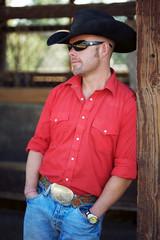 attractive cowboy