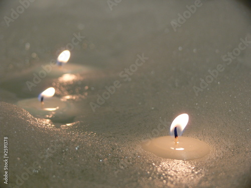 candles in bathe