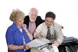 accounting series - seniors & taxes poster