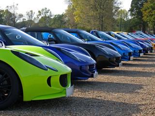 supercar lineup