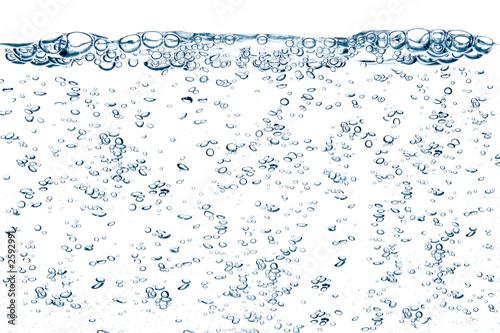Tuinposter Water planten water bubbles