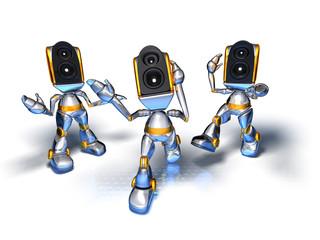 robots sound system