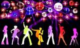 Fototapety night party 1
