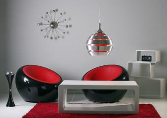 lounge, 70er, designerzimmer