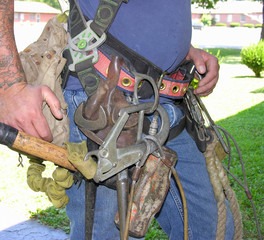 a real mans toolbelt