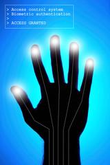 biometrics - hand identification