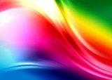 Abstrakcyjna kompozycja - kolorowe sny