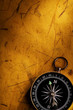 old page and compass