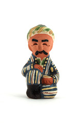 uzbek ceramic figurine