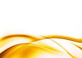 Abstrakcyjna kompozycja - żółta