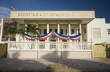 government building dominican republic poster