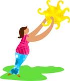 sunshine lady poster