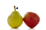 Fototapety pear and apple