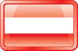 austria flag icon poster