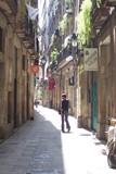 barcelona - qoarter gotic poster
