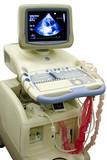 modern ultrasound medical device poster