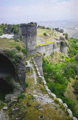 castle margat - walls and tower
