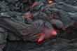 Leinwanddruck Bild - lava allure