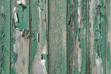 peeling green paint poster