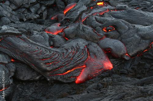 Leinwanddruck Bild lava allure