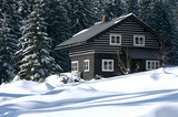 ski resort refuge poster