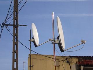 reception satellite
