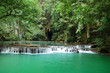 jungle lagoon, green water, thailand