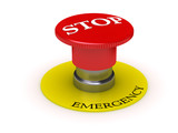 button - emergency stop poster