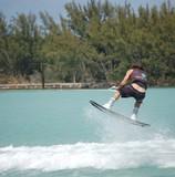 wake board rider poster