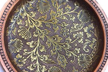 background series: flower pattern filigree work
