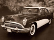 Fototapete 50s - 60s - Auto