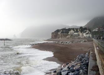 the coast of seaton