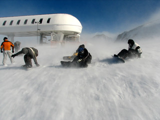 extreme in andorra mountains