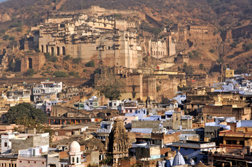 india, bundi: the city