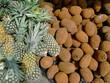 ananas + cupuaçu im  mercadão manaus - brasilien