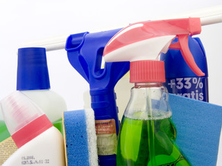 cleaning products including window washer