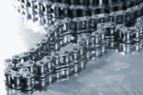 large timing chain for automotive-industry poster