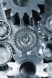 mechanical machinery parts poster
