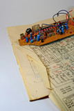 radio components and the electrocircuit 2. poster