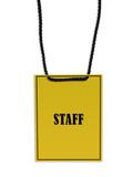 staff backstage pass poster