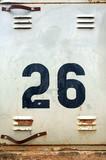 number twenty six poster