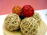 wattled handicraft sphere poster