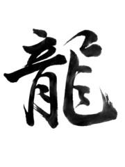 """kanji""""tatu,ryu""""(drago)"""